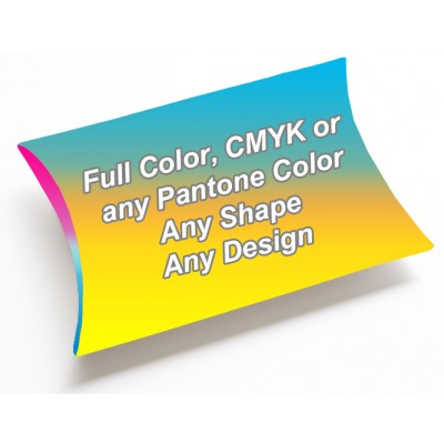 Full Color - Pillow Style Packaging Boxes