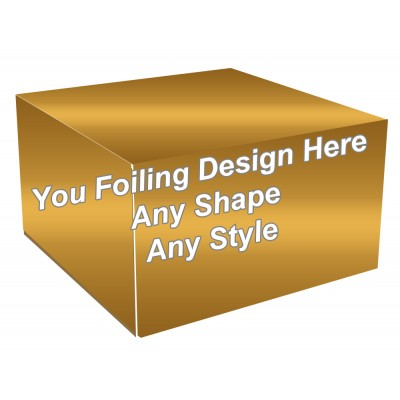 Golden Foiling - Cake Bakery Packaging Box