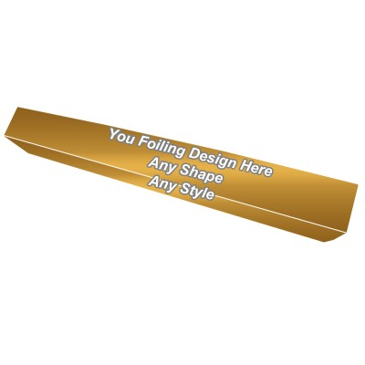 Golden Foiling - Lipstick Lip Gloss Packaging