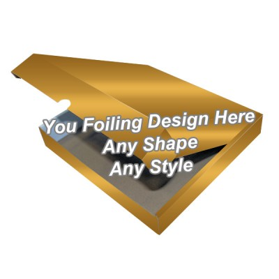 Golden Foiling - Flap Packaging Boxes