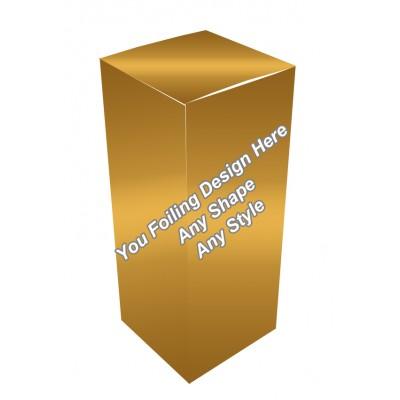 Golden Foiling - E Liquid Boxes