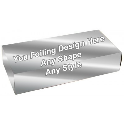 Silver Foiling - Biscuit Packaging Boxes