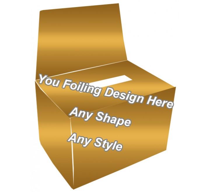 Golden Foiling - Bandage Packaging Boxes