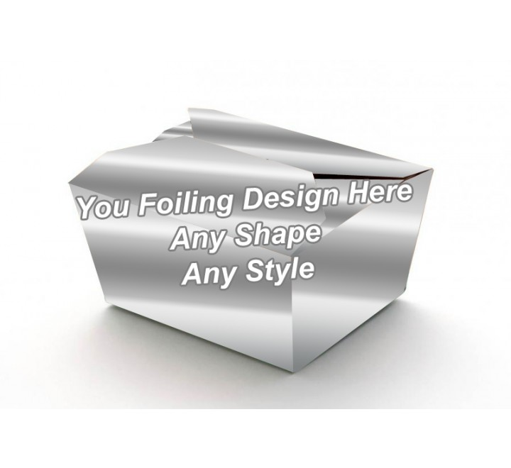 Silver Foiling - Food Packaging Boxes