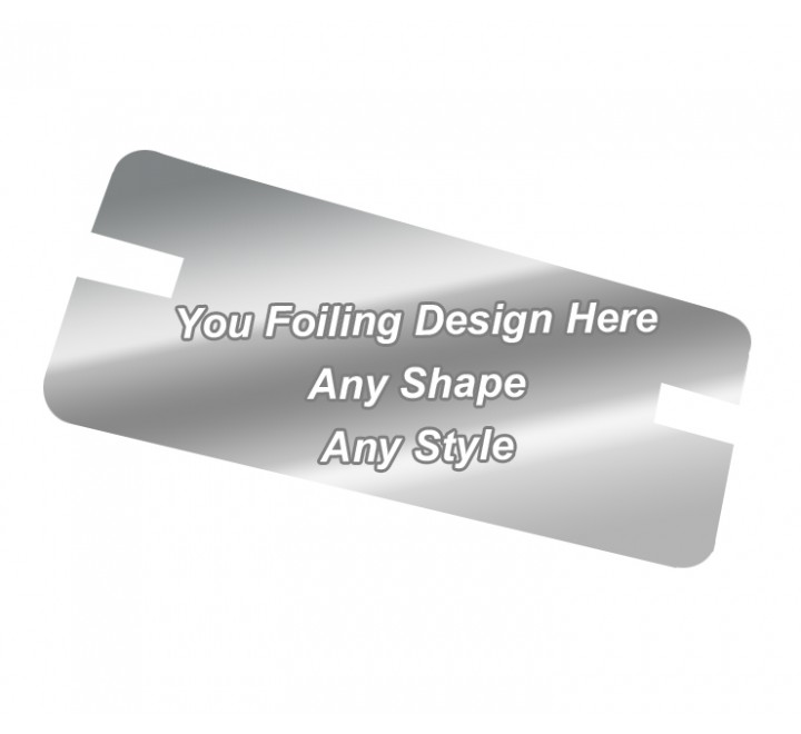 Silver Foiling - Backing Card Printing