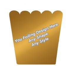 Golden Foiling - Pop Corn Boxes