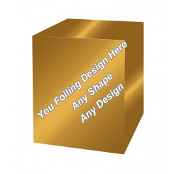 Golden Foiling - Jar Candle Boxes