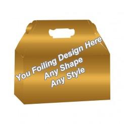 Golden Foiling - Window Gable boxes
