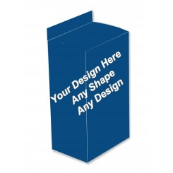 Matte Finish Boxes - Five Panel Hanger Boxes