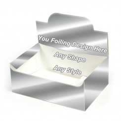 Silver Foiling - Auto Bottom Display Lid Boxes