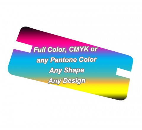 Full Color - Backing Card Printing