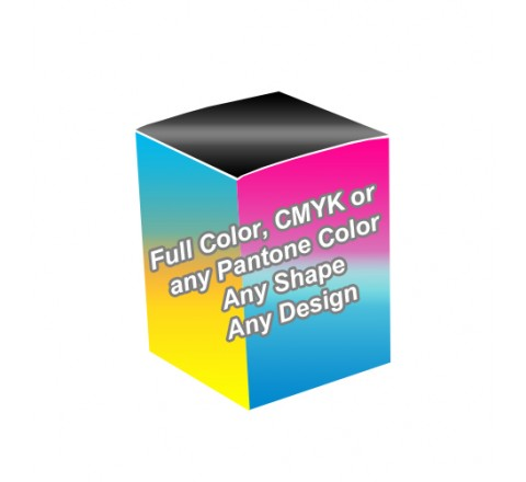 Full Color - Essential Oil Packaging