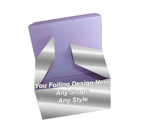 Silver Foiling - Folding Packaging boxes